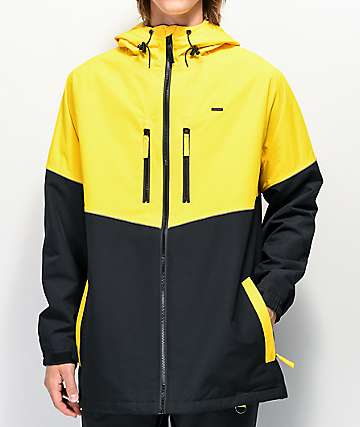 Empyre Far East Black & Yellow 10K Snowboard Jacket