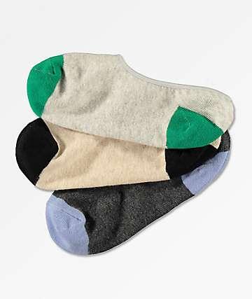 Empyre Fifer paquete de 3 calcetines invisibles