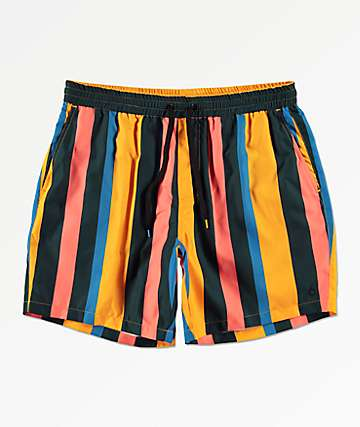 Empyre Floater Striped Board Shorts
