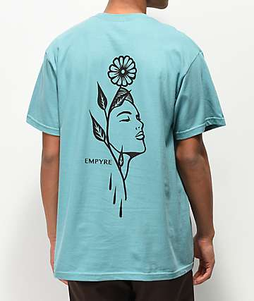 Empyre Flora Revival Teal T-Shirt