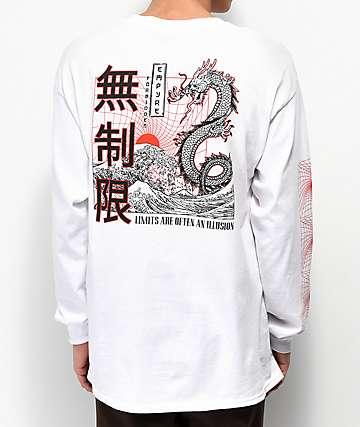 Empyre Forbidden White Long Sleeve T-Shirt