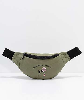 Empyre Forever Or Never Olive Fanny Pack