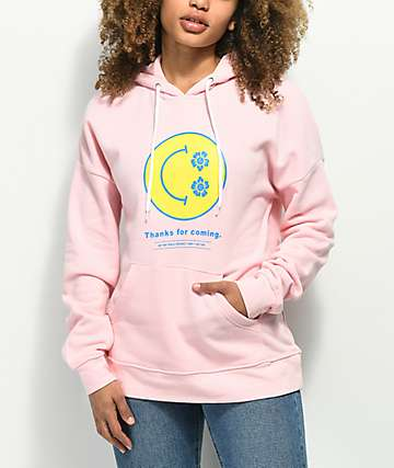 Empyre Fredia Smiley Pink Hoodie