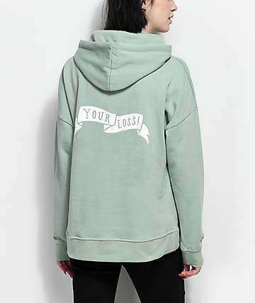Empyre Fredia Your Loss Green Hoodie