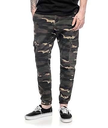 Empyre Freight pantalones jogger asargados en camo