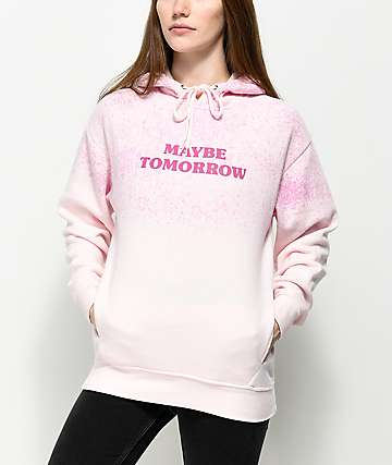 Empyre Gillian Maybe Tomorrow Pink Splatter Hoodie