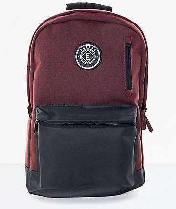 Empyre Good Burgundy & Black Backpack