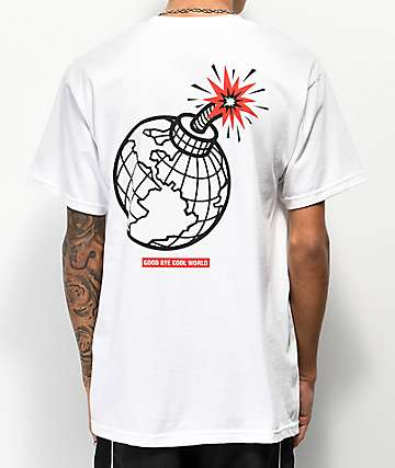 Empyre Goodbye Cool World White T-Shirt