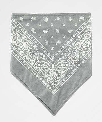 Empyre Grey Paisley Face Mask