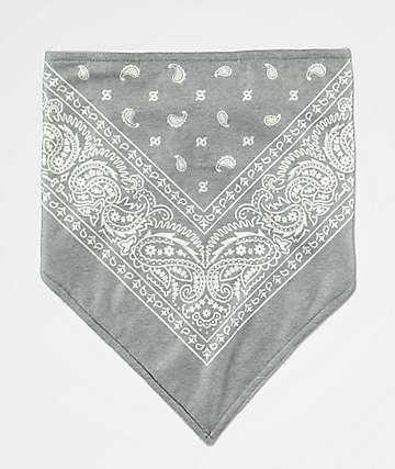Empyre Grey Paisley Face Mask
