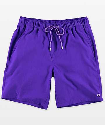 Empyre Grom shorts de baño con pretina elástica en añil