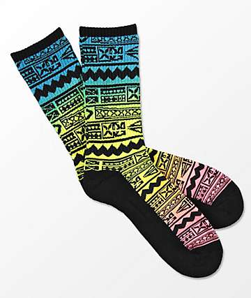 Empyre Grommit Black Crew Socks