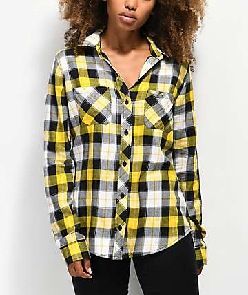 Empyre Havana Gold Flannel Shirt