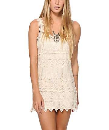 Empyre Iliana Crochet Shift Dress
