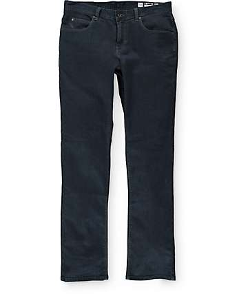 Empyre Kinetic  Blue Black Skinny Fit Jeans