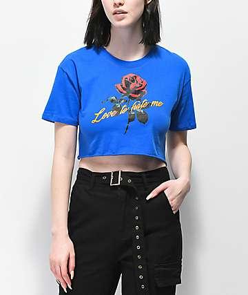 Empyre Kipsy Love2HateMe camiseta corta azul