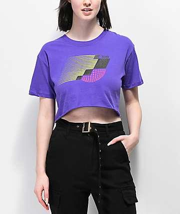 Empyre Kipsy camiseta corta violeta