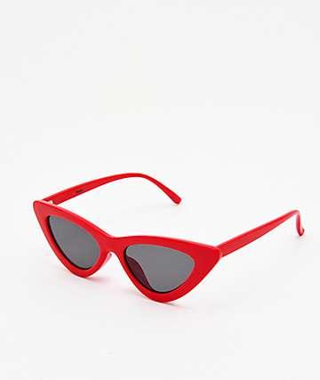 Empyre Kit Red & Black Cateye Sunglasse
