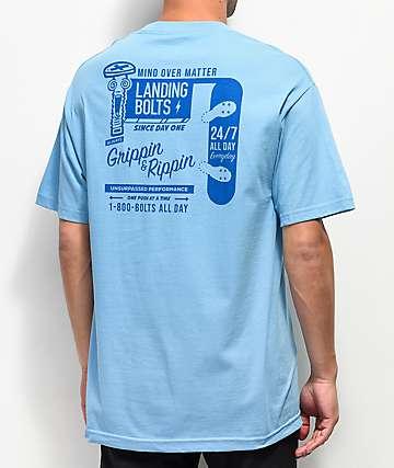 8b78e80b21b13 Empyre Landing Bolts Light Blue T-Shirt