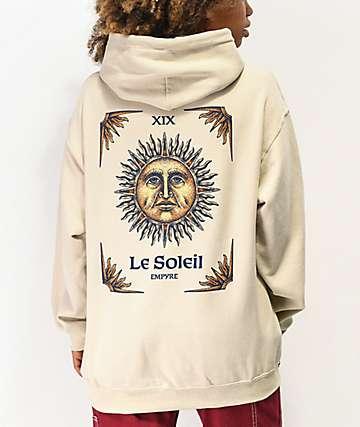 Empyre Le Soleil Cream Hoodie