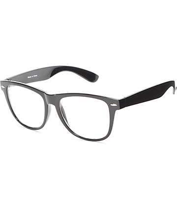 Empyre Lenny Black Clear Lens Sunglasses