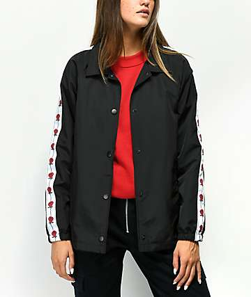 Empyre Leona Black & Rose Coaches Jacket