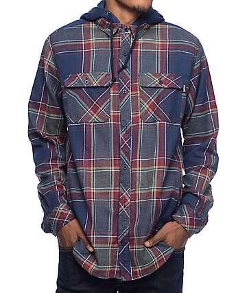 Empyre Leonard Hooded Flannel Shirt