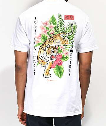 7ff1f9404 Empyre Like A Jungle White T-Shirt