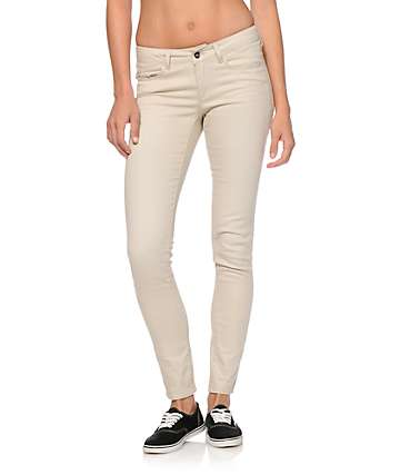 Empyre Logan Beige Jeggings