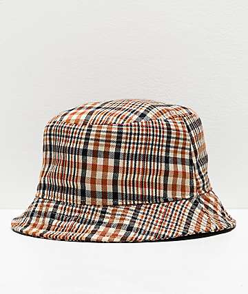Empyre Louver Plaid Bucket Hat