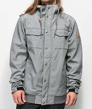 Empyre Luger 10K chaqueta de snowboard gris