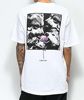 Empyre Lupi Rose camiseta blanca