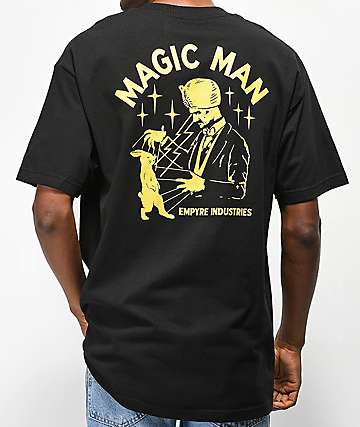 Empyre Magic Man Black T-Shirt
