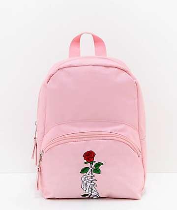 Empyre Muerte mini mochila rosa