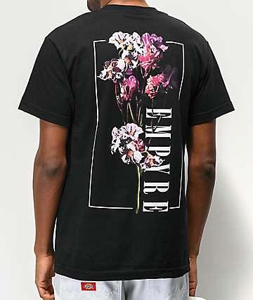 Empyre Nature's Rose Black T-Shirt