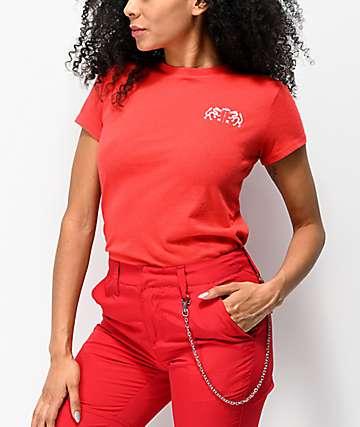 Empyre Nicholas Drag camiseta roja