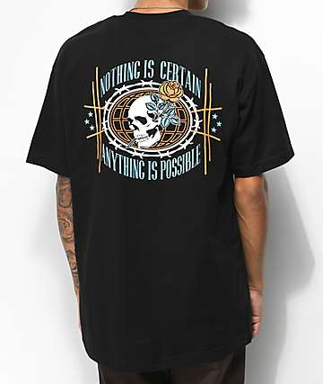Empyre Nothing Is Certain Black T-Shirt