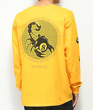 Empyre Nothing To Lose Gold Long Sleeve T-Shirt