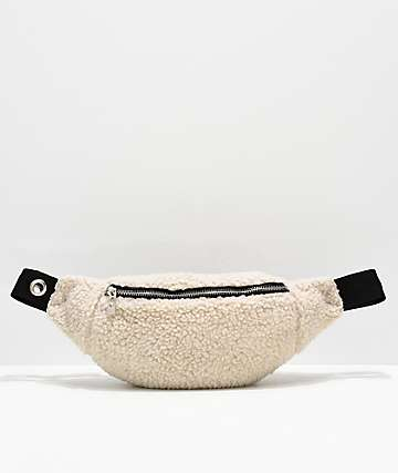 Empyre Onnie Sherpa Grommet Fanny Pack