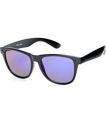 Empyre Orwell Black & Purple Revo Classic Sunglasses