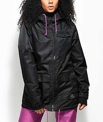 Empyre Outpost Black 5K Snowboard Jacket