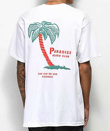 Empyre Paradise Club White T-Shirt