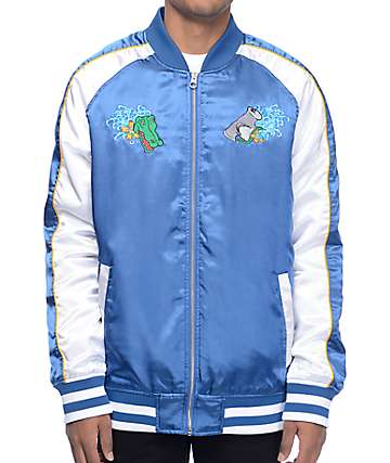 Empyre Passport Blue & White Souvenir Jacket