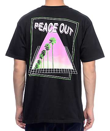 Empyre Peace Out camiseta negra