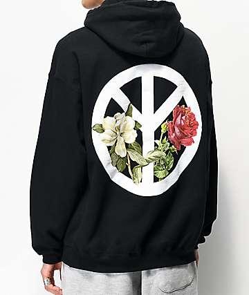 Empyre Peace War Black Hoodie