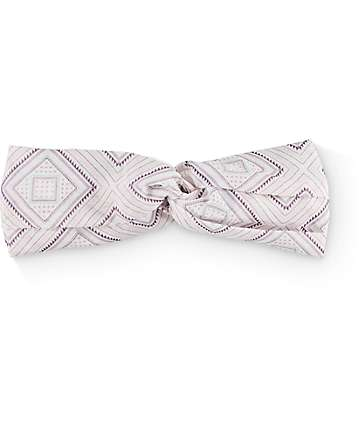 Empyre Pink & Blue Diamond Twist Headband