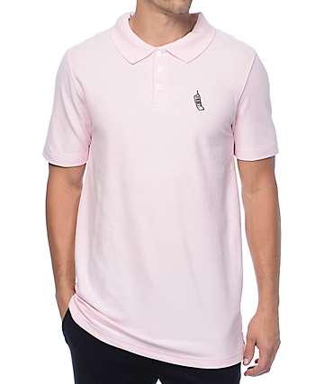 Empyre Pique Cellie Pink Polo Shirt