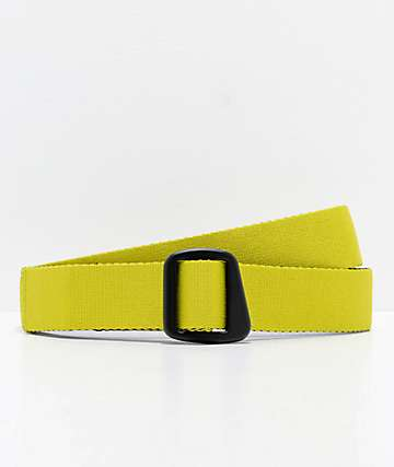 Empyre Prime Yellow & Black Reversible Web Belt