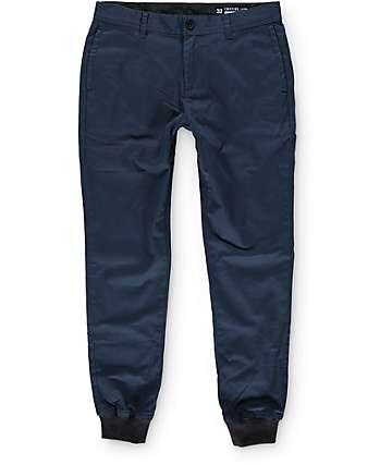 Empyre Rainier pantalones joggers de tela asargada
