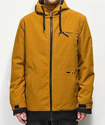 Empyre Rambler Tobacco 10K Snowboard Jacket